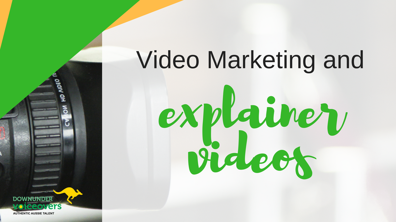 Video Marketing and Explainer Videos
