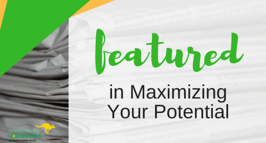 Featured in Maximizing Your Potential