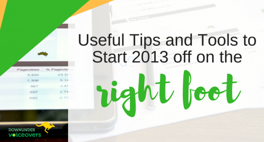 Useful Tips and Tools to Start 2013 Off On the